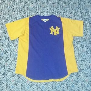 New 90s New York Yankees Majestic Jersey Vintage